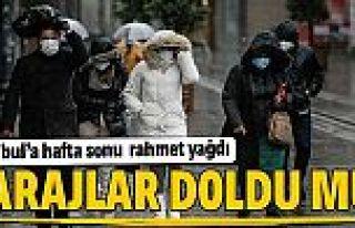 İstanbul'da barajlar doldu mu? İki günlük sağanak...