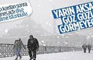 İstanbul'da hafta sonu yoğun kar yağışı bekleniyor