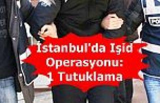 İstanbul'da Işid Operasyonu: 1 Tutuklama