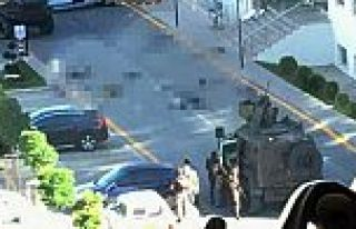 Jandarmadaki çatışmadan ilk görüntü