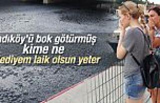 Kadıköy'deki Kurbağalıdere kirden fokurdamaya...