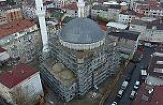 Karadeniz Mahallesi'nde bulunan Yunus Emre Camii Sonunda...