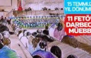 Kars'ta 11 FETÖ'cü darbeciye müebbet hapis