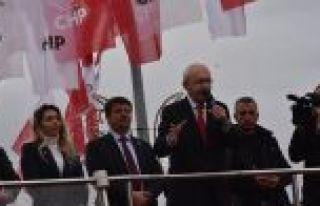 Kılıçdaroğlu: Huzurdan, üretmekten, çalışmaktan...