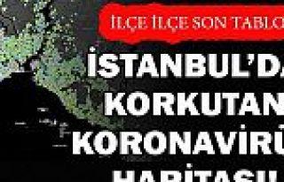 Korkutan görüntü! İstanbul'un bu ilçelerinde...