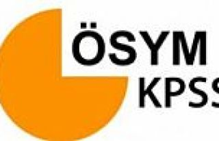 KPSS sonuçları açıklandı - ÖSYM sonuç açıklama...