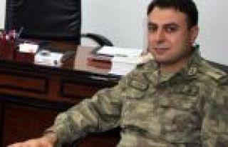 Maçka İlçe Jandarma Komutanı İzmir'den yapılan...