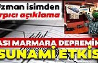 Marmara kıyıları tsunami potansiyeli taşıyor,...