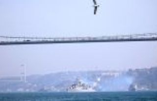 'Mavi Vatan 2019 Tatbikatı' tamamlayan gemiler İstanbul...