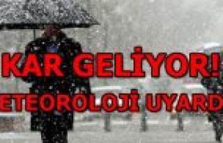 Meteoroloji'den uyarı üstüne uyarı...Türkiye'yi...