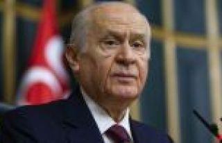 MHP Genel Başkanı Bahçeli: Ekonomide felaket senaryosu...