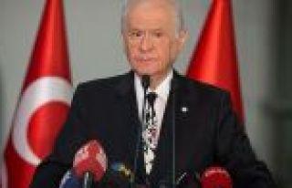 MHP Genel Başkanı Bahçeli: Sandık başındaki...