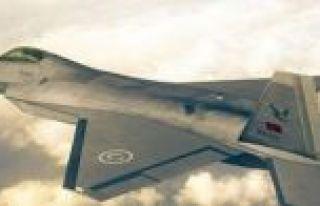 Milli Muharip Uçak'ın birebir modeli TEKNOFEST'te...