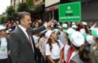 Minik Çevre Elçileri Gaziosmanpaşa'da Bir Araya...