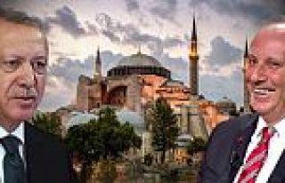 Muharrem İnce'ye Cumhurbaşkanı Recep Tayyip Erdoğan'dan...