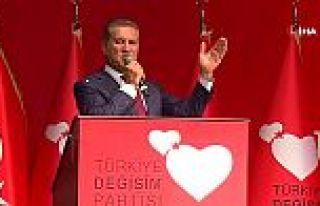 Mustafa Sarıgül'ün partisinin ismi ve logosu belli...
