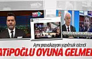 Nihat Hatipoğlu PKK provokasyonuna alet olmadı