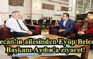 Özgecan'ın ailesinden Eyüp Belediye Başkanı Aydın'a...