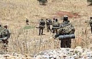 PKK'lı teröristler askere ateş açtı: 1 şehit