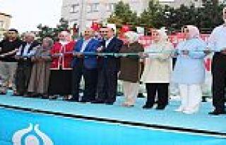 Sağlık Bakanı Müezzinoğlu Sultangazi'de Park...