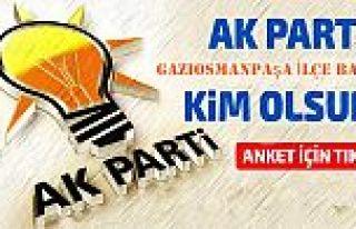 Sizce Ak parti Gaziosmanpaşa'da İlçe başkanı...