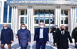 Süleyman Soylu Gaziosmanpaşa'da Kaymakamlık binasını...