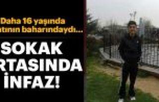 Sultangazi'de 16 yaşındaki çocuk uğradığı...