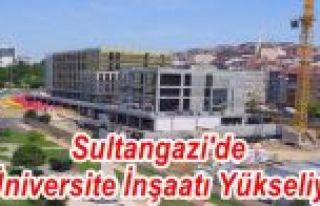 Sultangazi'de 3 Üniversite İnşaatı Yükseliyor
