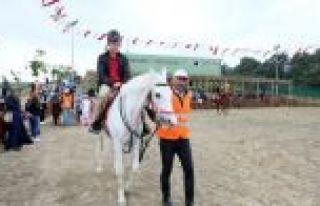 Sultangazi'de At Binme Tesisleri Çocukların İlgi...