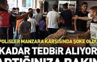 Sultangazi'de bedava döner dağıtıldı, sosyal...