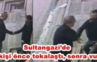 Sultangazi'de bir kişi önce tokalaştı, sonra...