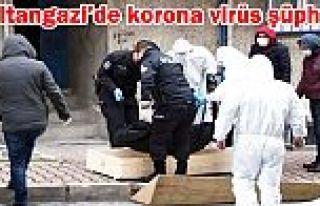 Sultangazi'de evinde ölen kadında korona virüs...