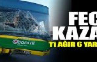 Sultangazi'de İETT otobüsü minibüse çarptı:...