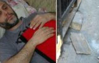 Sultangazi'de kafasına beton parçası düştü ölümden...