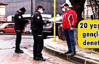 Sultangazi'de polisten sokakta bulunan 20 yaş altı...