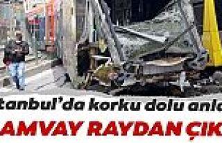 Sultangazi'de tramvay ile otobüs çarpıştı
