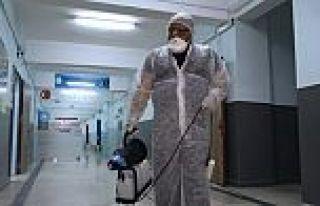Sultangazi'deki okullar dezenfekte edildi