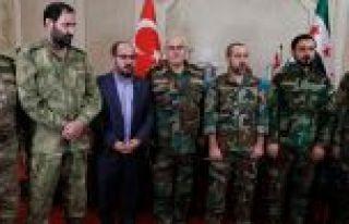 Suriye'deki Milli Ordu ve Ulusal Kurtuluş Cephesi...
