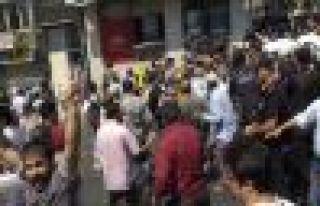 Taksim'de sınır ötesi gerginliği