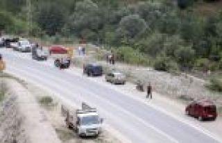 Trabzon'un Maçka ilçesi kırsalında sıcak çatışma!