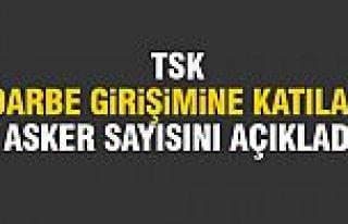 TSK'dan darbe açıklaması