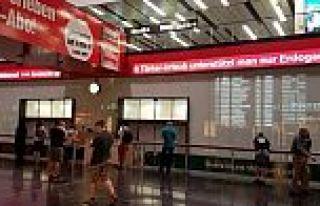 Viyana Havalimanı'nda skandal 'Erdoğan' yazısı!
