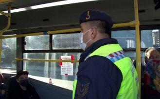 Sultangazi'de fazla yolcu alan minibüs şoförüne ceza