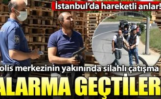 Sultangazi'de hareketli anlar... Polis merkezinin yakınında silahlı çatışma!