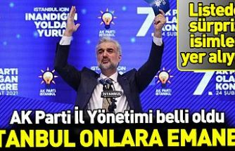 AK Parti İstanbul İl Yönetimi belli oldu! Dikkat çeken isimler belli oldu...