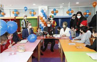 Sultangazi'nin İlk Çocuk Kütüphanesi Açıldı