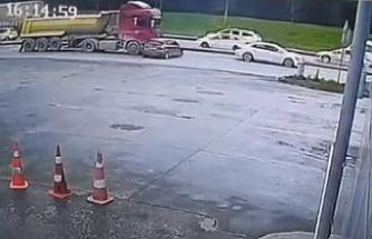 Sultangazi'de hafriyat kamyonu dehşeti