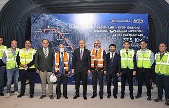 Kağıthane metrosunda ilk sinyalizasyon test sürüşlerini Kasım 2021'de başlatacağız