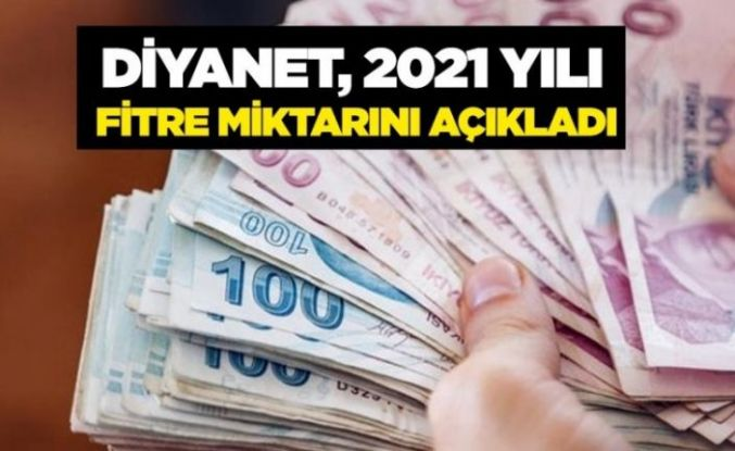 Diyanet 2021 fitre miktarını belirledi