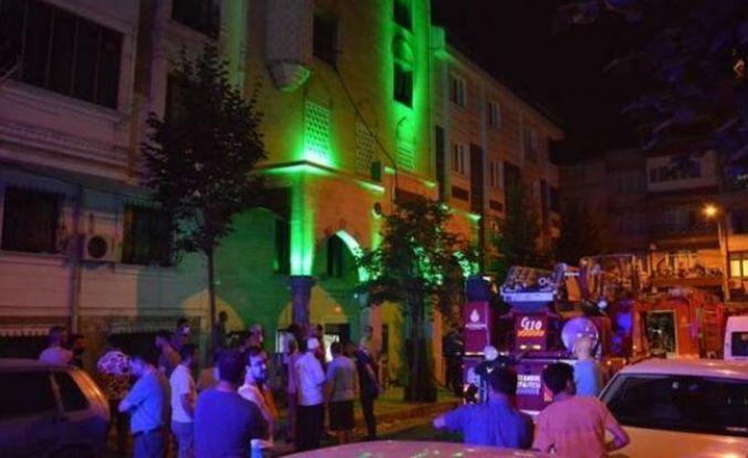 Gaziosmanpaşa'da Kur'an Kursu'nda korkutan yangın